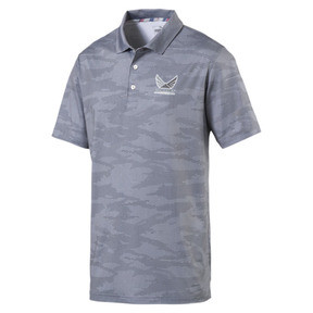 Thumbnail 1 of Volition Men's Signature Polo, QUIET SHADE, medium