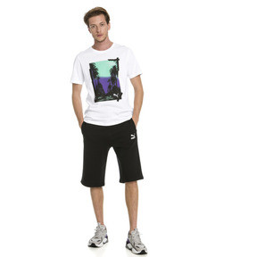 "Thumbnail 3 of Classics Logo 12"" Men's Shorts, Cotton Black, medium"