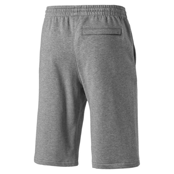 Classics Logo Herren Shorts 30,5 cm, Medium Gray Heather, large
