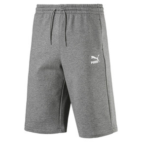 "Thumbnail 4 of Classics Logo 12"" Men's Shorts, Medium Gray Heather, medium"