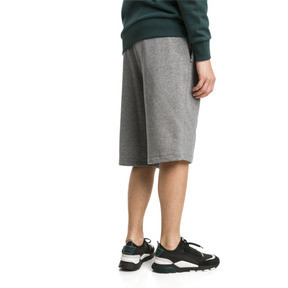 Thumbnail 2 of Classics Logo Herren Shorts 30,5 cm, Medium Gray Heather, medium