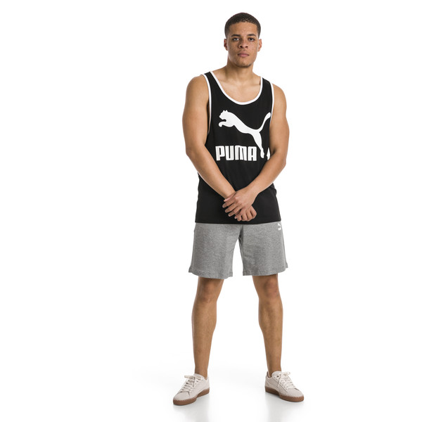 Classics Light Terry Men's Sweat Shorts, Medium Gray Heather, large