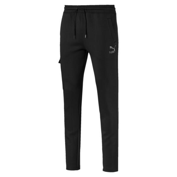 Classics Men's Open Hem Pants, Cotton Black, large