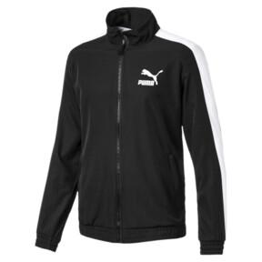 Thumbnail 1 of Iconic Men's Woven T7 Track Jacket, Puma Black, medium