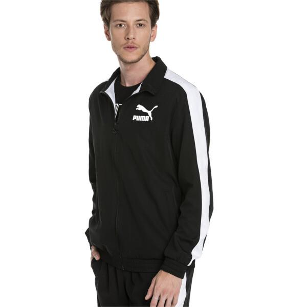 Iconic Men's Woven T7 Track Jacket, Puma Black, large