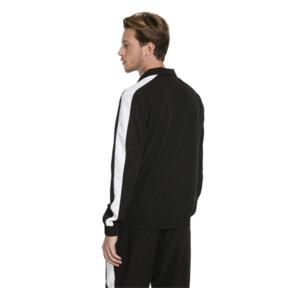 Thumbnail 3 of Iconic Men's Woven T7 Track Jacket, Puma Black, medium