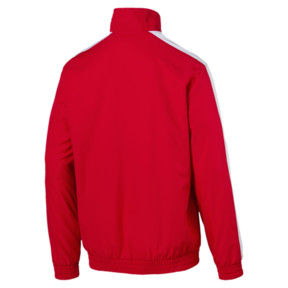 Thumbnail 2 of Iconic Men's Woven T7 Track Jacket, High Risk Red, medium
