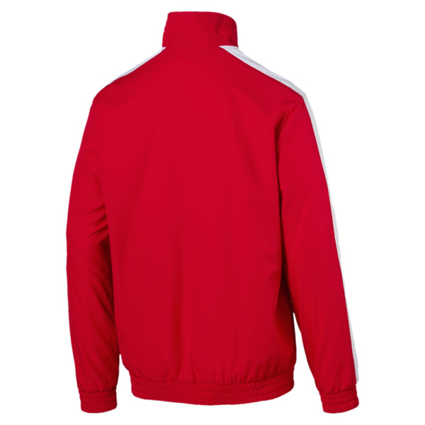 Iconic Men's Woven T7 Track Jacket, High Risk Red, large