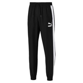 Thumbnail 1 of Iconic T7 Woven Men's Sweatpants, Puma Black, medium