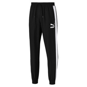 Thumbnail 1 of Iconic T7 Track Pants Woven, Puma Black, medium