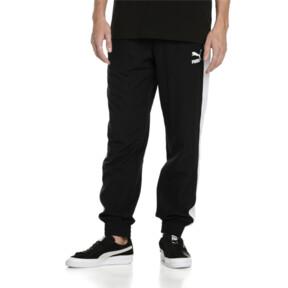 Thumbnail 2 of Iconic T7 Woven Men's Sweatpants, Puma Black, medium