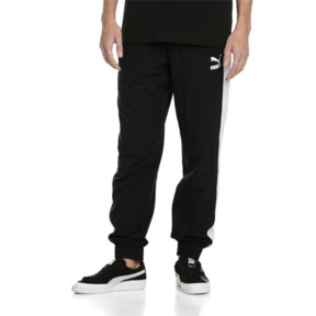 Thumbnail 2 of Iconic T7 Track Pants Woven, Puma Black, medium