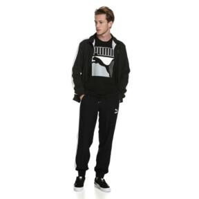 Thumbnail 3 of Iconic T7 Woven Men's Sweatpants, Puma Black, medium