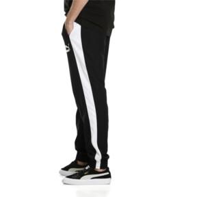 Thumbnail 6 of Iconic T7 Woven Men's Sweatpants, Puma Black, medium