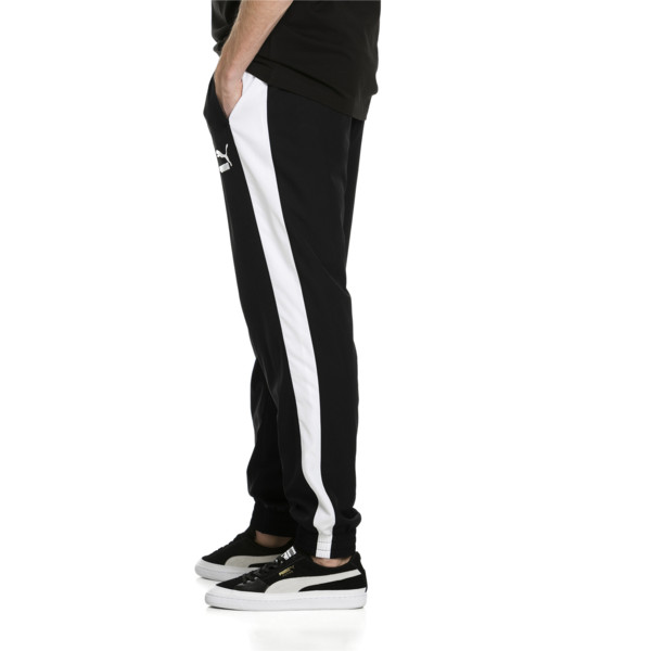Iconic T7 Track Pants Woven, Puma Black, large