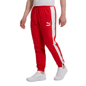 Thumbnail 2 of Iconic T7 Track Pants Woven, High Risk Red, medium