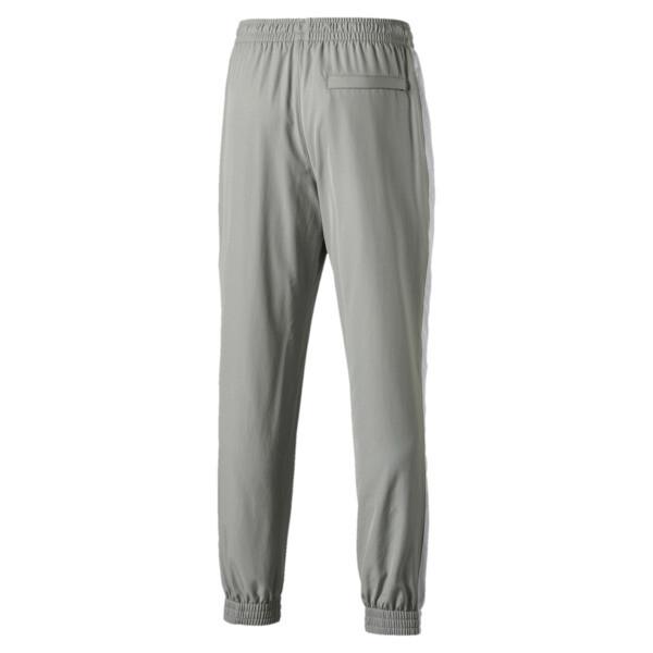 Iconic T7 Woven Men's Sweatpants, Limestone, large