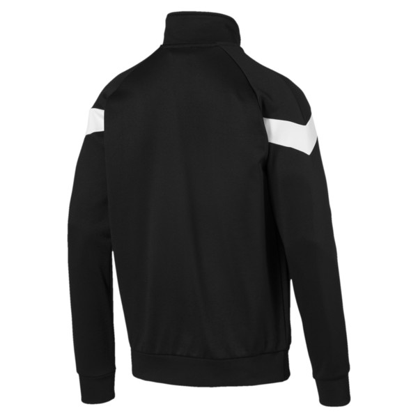 Iconic MCS Track Jacket, Puma Black, large