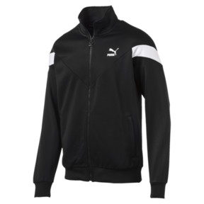Thumbnail 1 of Iconic MCS Track Jacket, Puma Black, medium