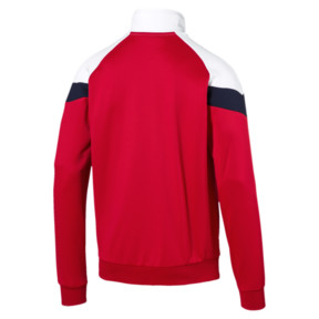 Thumbnail 4 of Iconic MCS Men's Track Jacket, High Risk Red, medium