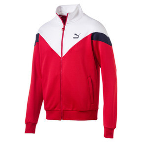 Thumbnail 1 of Iconic MCS Track Jacket, High Risk Red, medium