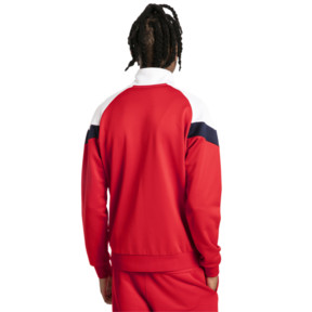 Thumbnail 3 of Iconic MCS Men's Track Jacket, High Risk Red, medium