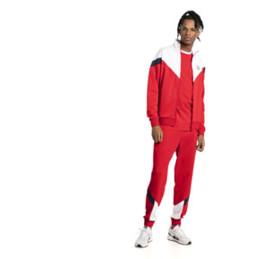Thumbnail 5 of Iconic MCS Track Jacket, High Risk Red, medium