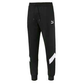 Thumbnail 1 of Iconic MCS Men's Track Pants, Puma Black -1, medium