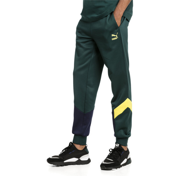 Iconic MCS Men's Track Pants, Ponderosa Pine-2, large