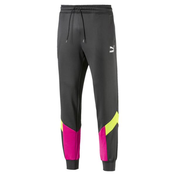 Iconic MCS Men's Track Pants, Asphalt, large