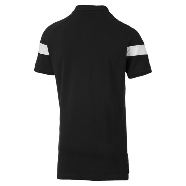 Iconic MCS Slim Men's Polo, Cotton Black, large