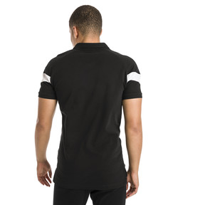 Thumbnail 3 of Iconic MCS Slim Men's Polo, Cotton Black, medium