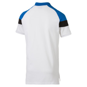 Thumbnail 4 of Iconic MCS Slim Men's Polo, Puma White, medium