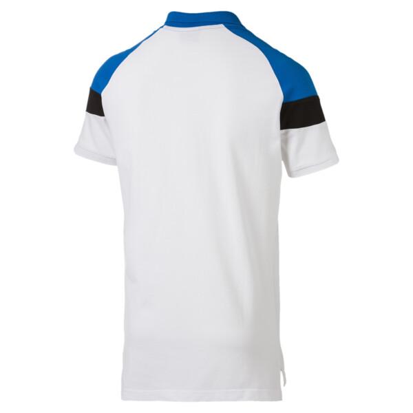 Iconic MCS Men's Slim Polo, Puma White, large