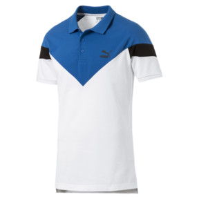 Thumbnail 1 of Iconic MCS Slim Men's Polo, Puma White, medium