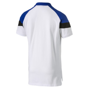 Thumbnail 3 of Iconic MCS Men's Slim Polo, Puma White, medium
