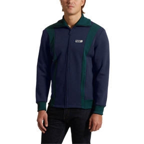 Thumbnail 2 of Iconic T7 Spezial Men's Track Jacket, Peacoat, medium
