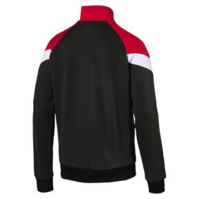 Thumbnail 5 of Iconic MCS Mesh Men's Track Jacket, Puma Black, medium