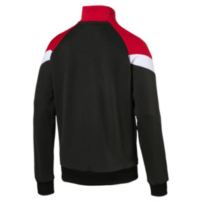 Thumbnail 3 of Iconic MCS Men's Mesh Track Jacket, Puma Black, medium