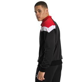 Thumbnail 2 of Iconic MCS Mesh Men's Track Jacket, Puma Black, medium