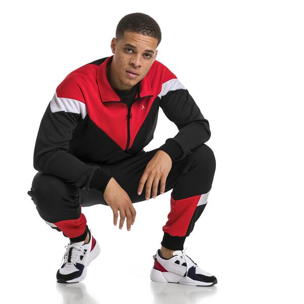 Iconic MCS Mesh Men's Track Jacket, Puma Black, large