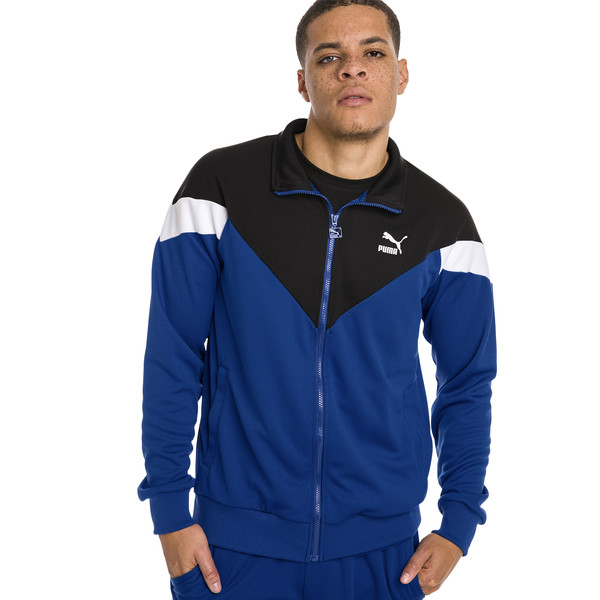 Iconic MCS Mesh Men's Track Jacket, Surf The Web, large