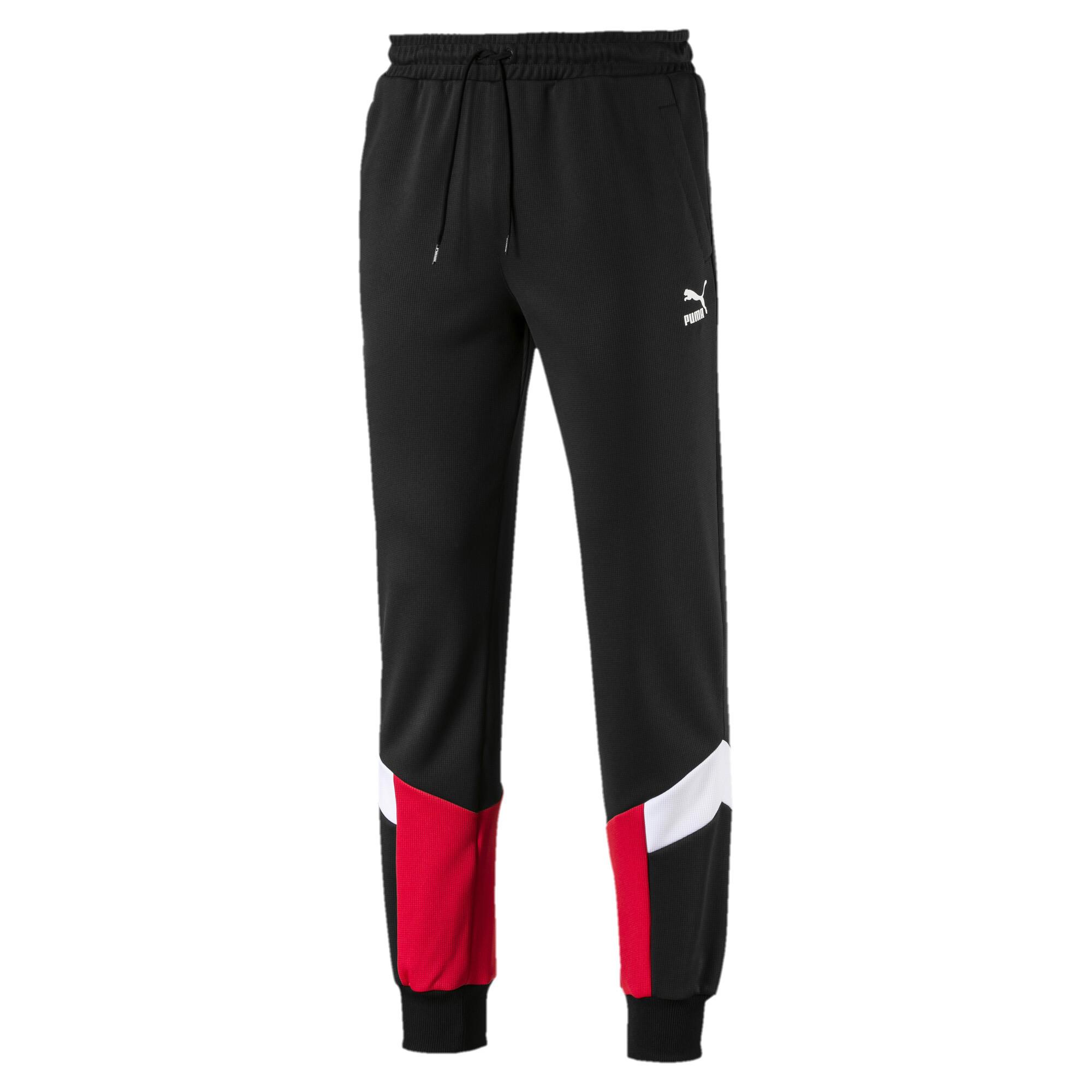 Image Puma Iconic MCS Mesh Knitted Men's Track Pants #4
