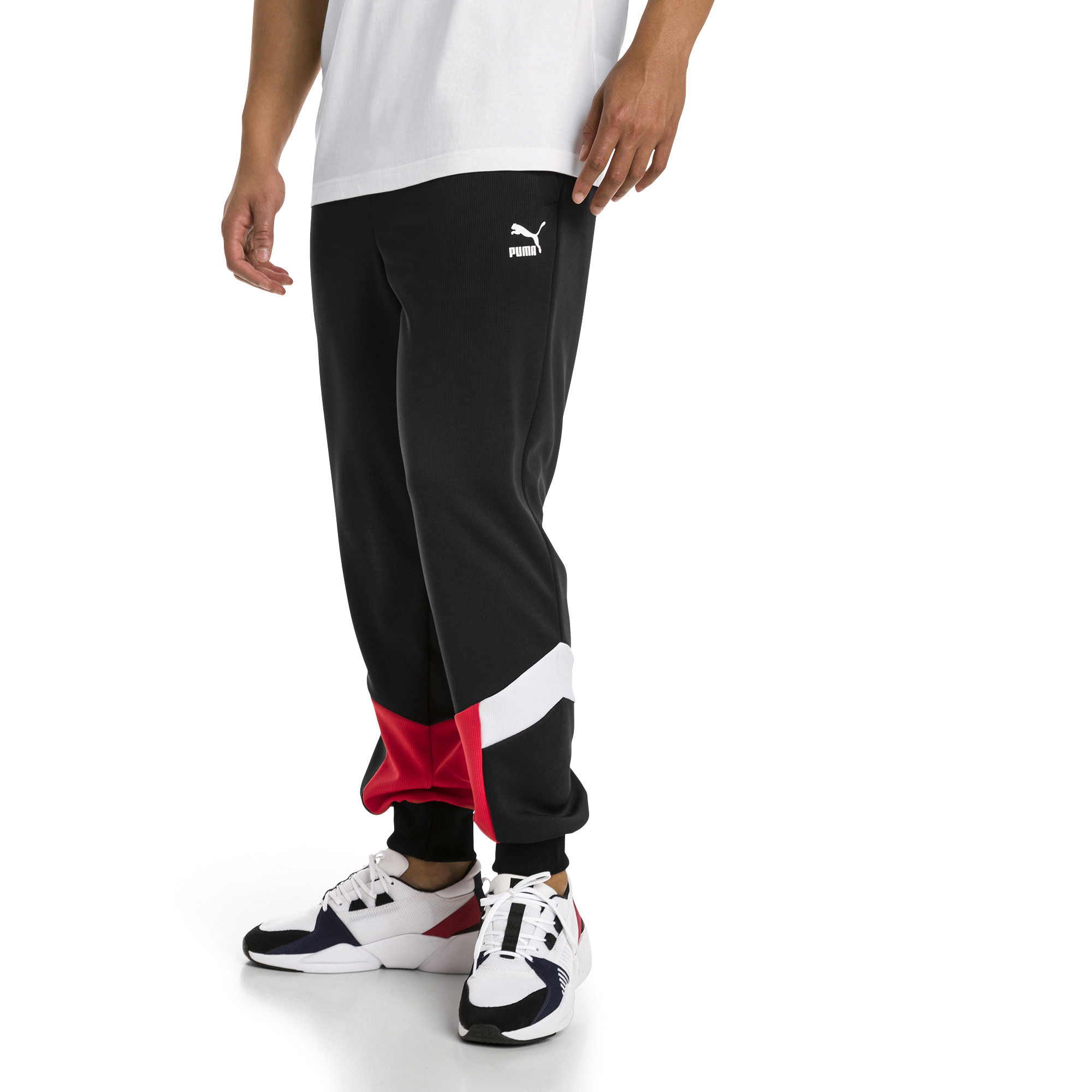 Image Puma Iconic MCS Mesh Knitted Men's Track Pants #1