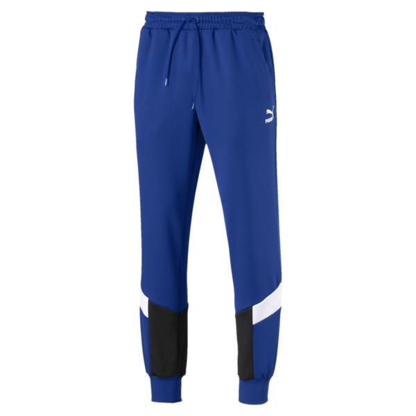 Iconic MCS Mesh Knitted Men's Track Pants, Surf The Web, large