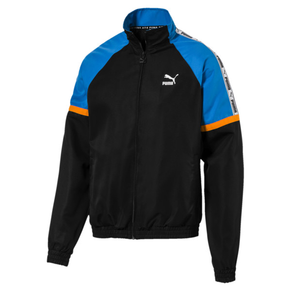 PUMA XTG Full Zip Men's Woven Jacket, Puma Black, large