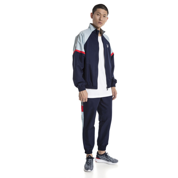 XTG Woven Men's Jacket, Peacoat, large