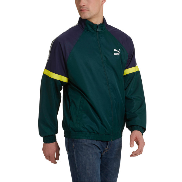 PUMA XTG Full Zip Men's Woven Jacket, Ponderosa Pine, large