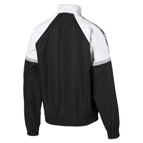 Thumbnail 6 of PUMA XTG Full Zip Men's Woven Jacket, Puma Black-Puma white, medium