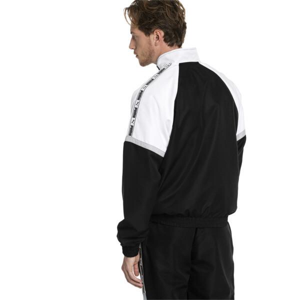 XTG geweven jack voor mannen, Puma Black-Puma white, large